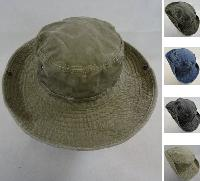Washed Floppy Boonie Hat [Solid]